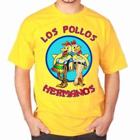 Camisa Camiseta, Los Pollos Hermanos Breaking Bad - Série