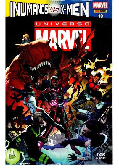 Universo Marvel 18 4ª Serie - Panini - Bonellihq Cx114 I19