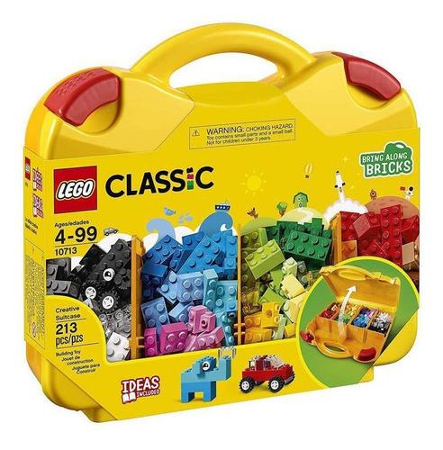 Imagem 1 de 3 de Lego Classic Maleta Da Criatividade 213 Peças - 10713