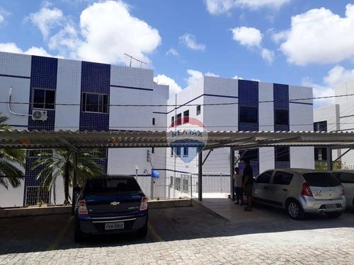 Apartamento Com 3 Dormitórios À Venda, 95 M² - Candelária - Natal/rn - Ap0089