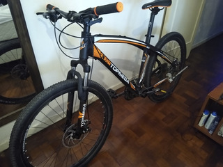Bicicleta Mtb Top Mega Envoy! Aluminio, Shimano, Freno Disco