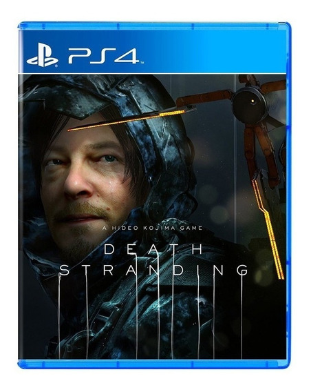 Jogo Midia Fisica Death Stranding Exclusivo Ps4 Playstation