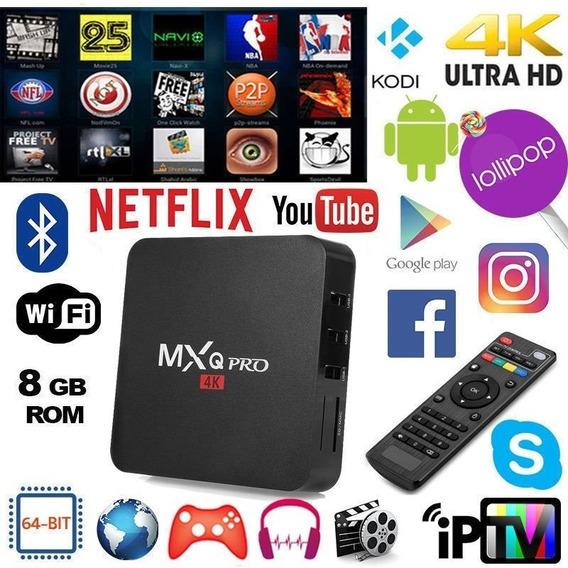 Aparelho Adaptador Smart Tv Comum Tubo Mx Web Tv Android