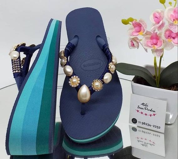Havaianas High Fashion Azul Índigo