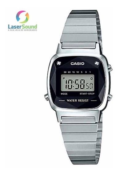 Relógio Casio Feminino Vintage La670wad-1df, C/garantia E Nf