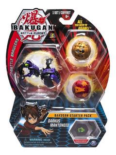 Bakugan Starter Pack Darkus Mantonoid Spin Master