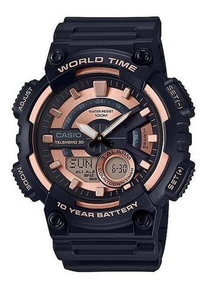 Relógio Casio World Time Original Envio Imediato