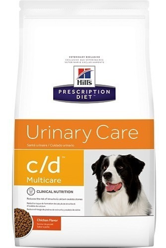 Alimento Hills Urinary C/d Cd Para Perro 8 Kg - Envío Gratis