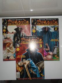 Revistas Da Série Drácula De Bram Stoker (coleção Completa)