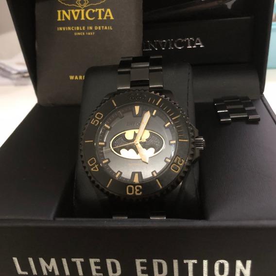 Relógio Invicta Batman Edição Limitada - Numerado