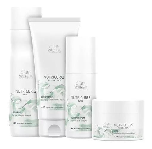 Wella Professional Nutricurls Kit (4 Produtos)