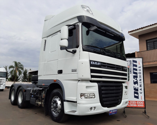 Daf Fts Xf 105.460 6x2 Ano 2018/18 Super Space Automático²