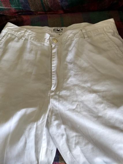 Pantalon Casual Para Dama Blanco Talla 9