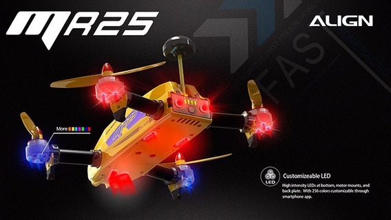 Drone Mr25 Racing Quad Combo 300mw - Rn42501xt / Preço Baixo