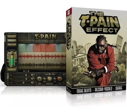 Izotope T-pain Effect Plugins T-pain Para Voz Studio