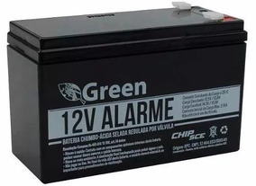 5 X Bateria 12v 7a Selada Green Nobreak Cerca Alarme Seg