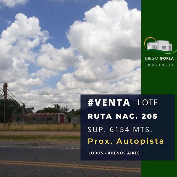 #venta Lote Proximo Autopista Ruta Nac. 205 - Lobos