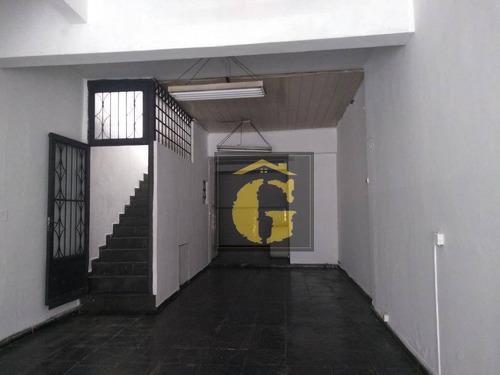 Imagem 1 de 6 de Salão Para Alugar, 147 M² Por R$ 2.900/mês - Parque São Lucas - São Paulo/sp - Sl0063