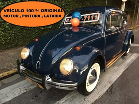 Volkswagen Fusca / Fusca 1300 Placa Preta 19972