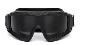 Goggles Tacticos Gotcha Elite Airsoft Micas Intercambiables