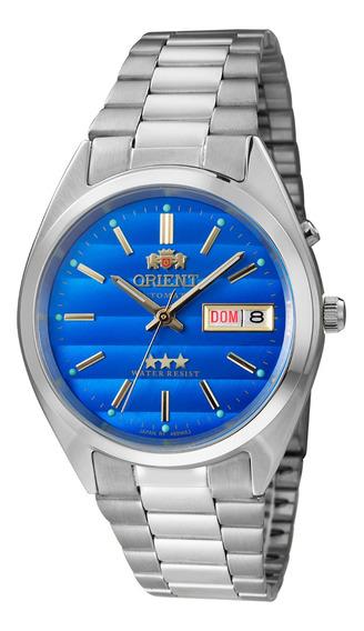 Relógio Orient Analógico Automático 469wa3a Prata