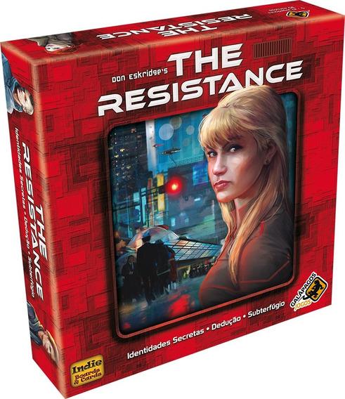 The Resistance Em Português Pt-br Galápagos Jogos Board Game