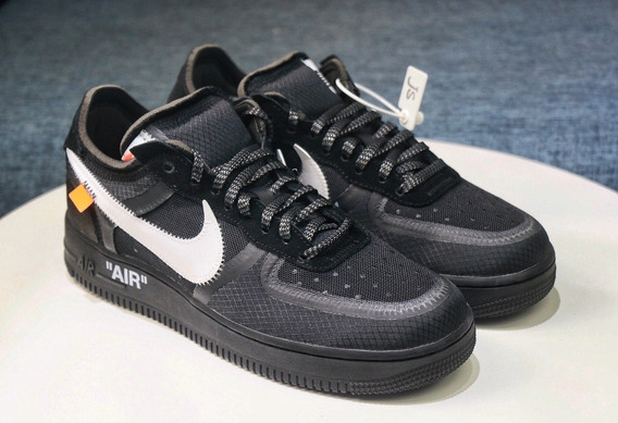 Tenis Air Force Low Off White Black