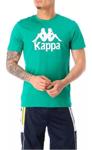 Remera Kappa Unisex Verde