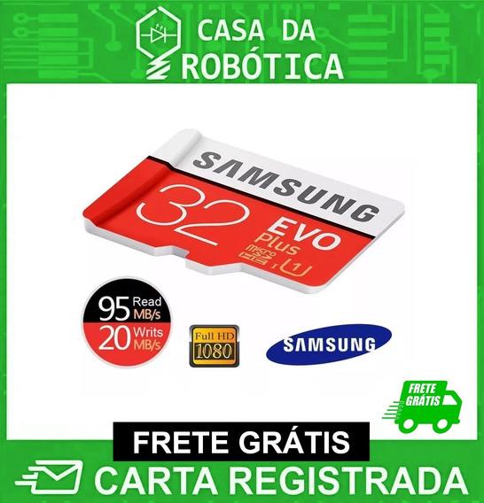 Cartão De Memória Micro Sdhc 32gb Samsung Classe 10 Evo Plus