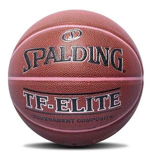 Bola De Basquete Spalding Tf-elite Oficial Cbb Tam 6 Fem