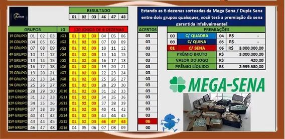 Planilha Mega Sena Com 48 Dezenas Garantia Da Sena 100%