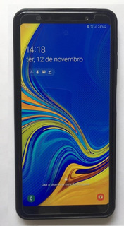 Galaxy A7 2018 128gb 4gb Ram Garantia Até Jan 2020