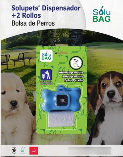 Imagen 1 de 4 de Bolsa Perro Sanitaria Solubag 10 Pack (dispensador+2rollos)