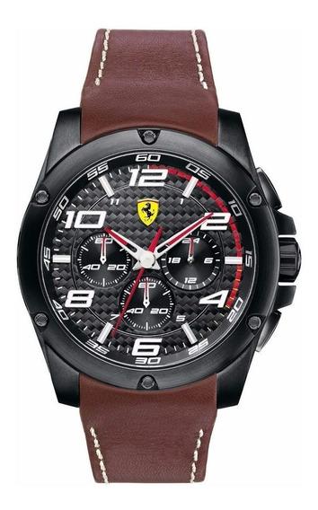 Relógio Ferrari Scuderia 0830029 Chronograph Novo Original