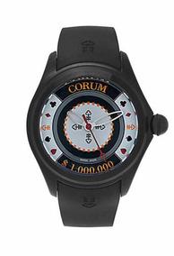 Relógio Corum Bubble 47 Casino Chip Edição Limitada Novo Top