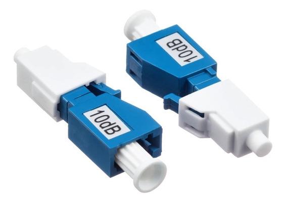 Lote 10 Peças Atenuador Fibra Optica Lc/pc 10/02/15 Db