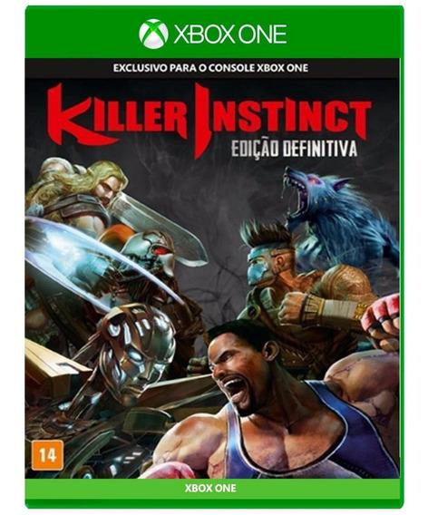 Killer Instinct Edição Definitiva - Mídia Física Xbox Usado