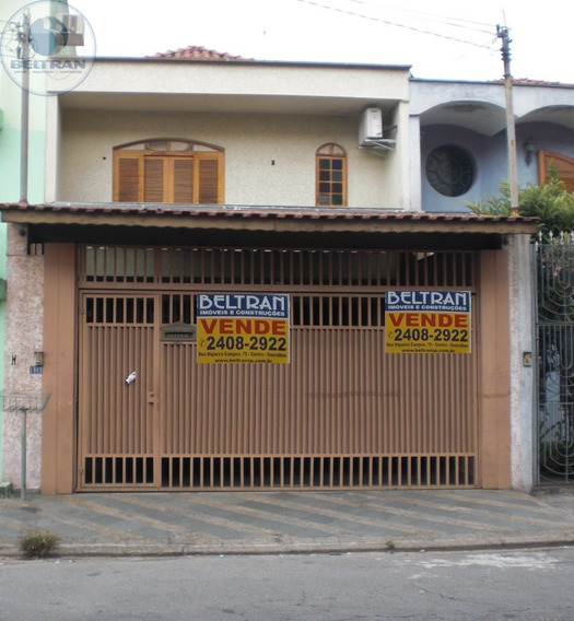 Sobrado A Venda No Bairro Parque Renato Maia Em Guarulhos - - 439-1