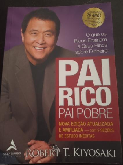 Livro Pai Rico Pai Pobre. Livro Físico.