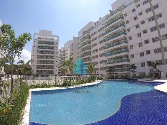 Apartamento A Venda No Bairro Pechincha Em Rio De Janeiro - - Vernissage Residence-1
