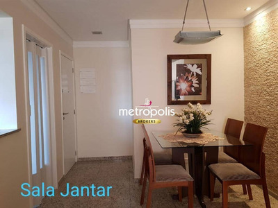 Apartamento Com 2 Dormitórios À Venda, 64 M² Por R$ 460.000 - Barcelona - São Caetano Do Sul/sp - Ap2343