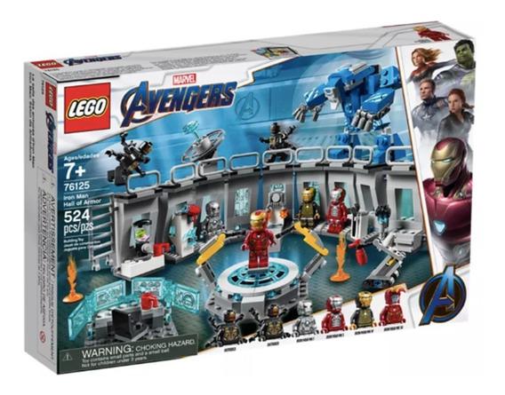 Lego Iron Man Avengers Salon Sala De Armaduras 76125