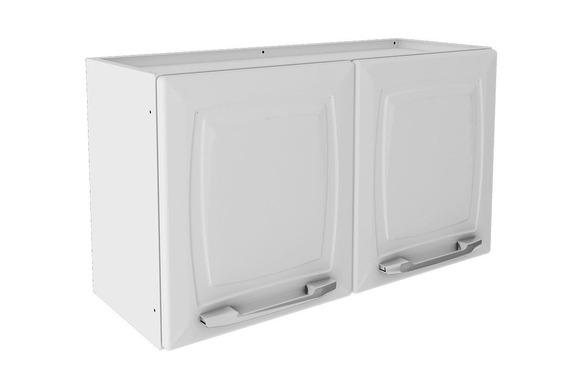 Armário Aéreo Cozinha Itatiaia Criativa Aço 2 Portas Branco