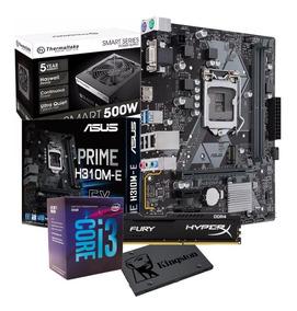 Kit Intel Core I3 8100 H310m E 8gb Fury Tt500 Ssd120 Gb I