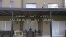 Techos Cochera Garage Pergola Herrero Herreria Policarbonato