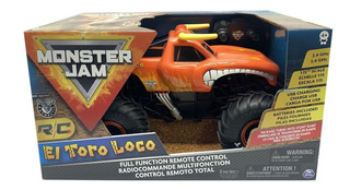 Monster Jam Camioneta Toro Loco Radio Control 1:15 Jlt 66801