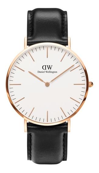 Reloj Unisex Daniel Wellington Classic 40 Sheffield Rg White