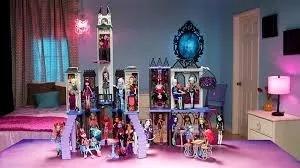Monster High Deadluxe Escuela Secundaria Nueva Y Original