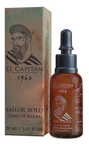 Óleo De Barba Sailor Bold 30ml El Capitán