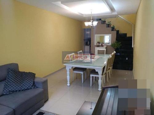 Sobrado Com 3 Dormitórios À Venda, 204 M² Por R$ 689.000 - Jardim São João - Guarulhos/sp - Cód. So2 - Ai14005